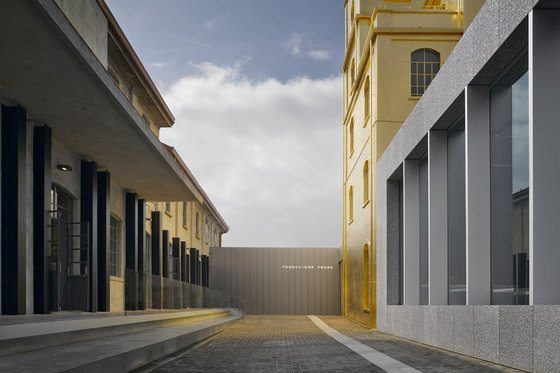 fondation Prada, nouvel espace, sur www.fashionlabparis.com.
