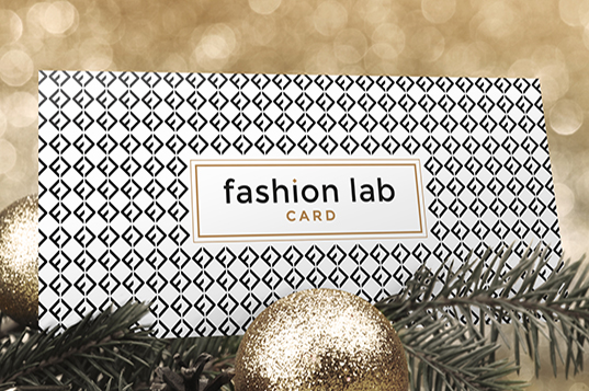 Fashion Lab created its gift card